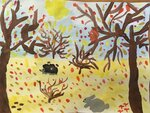 Мжельская Лера (рук. Соловьева Александра Викторовна) - Осенний лес