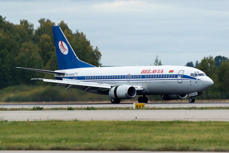 Boeing 737-3L9 (EW-404PA) Belavia 0115_D805520a