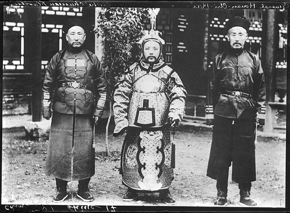 Юань Шикай и Чжан Цзолинь.  Смутное время Китая.