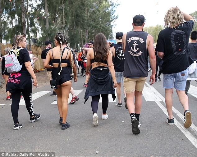 Музыкальный фестиваль Defqon1 в Австралии