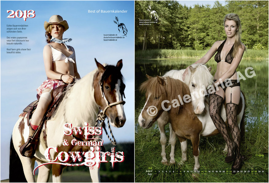 "Calendar ""Swiss Cowgirls 2018"""