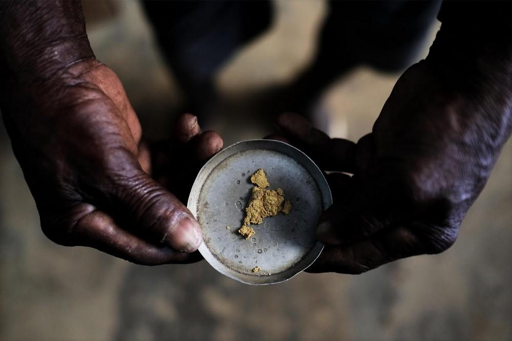 Нелегальная добыча золота в Бразилии