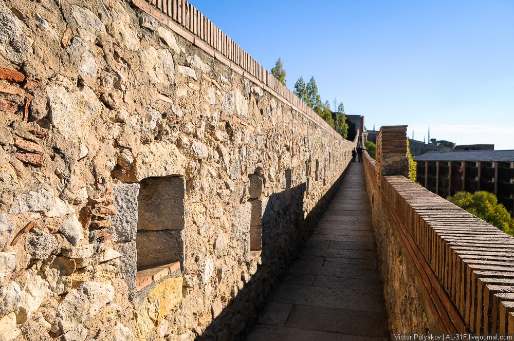 Городские стены Жироны