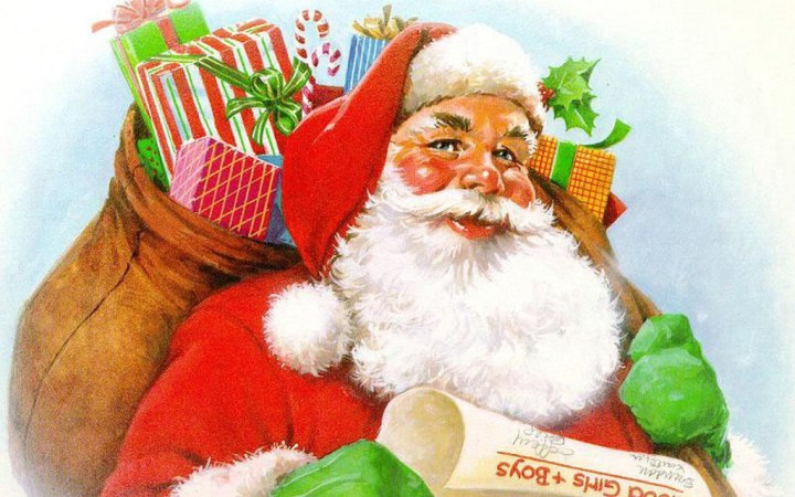 С Днем Рождения Деда Мороза. Поздравляем вас
