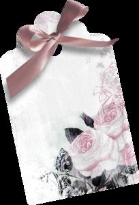 розовые бирки