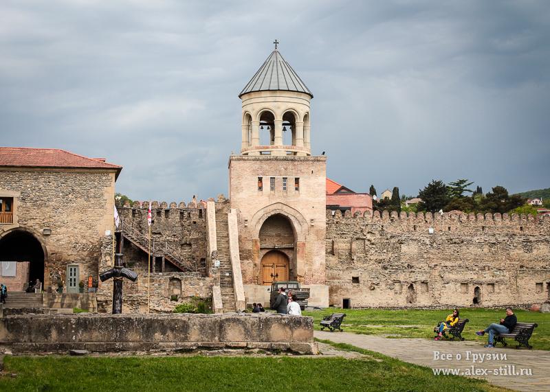 Древняя крепость в Грузии
