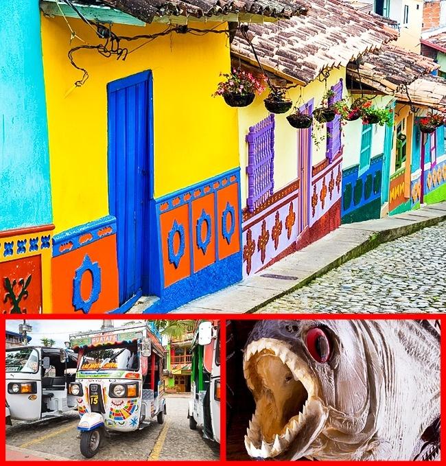 © pixabay  © depositphotos  © depositphotos  ВКолумбии можно увидеть археологичес