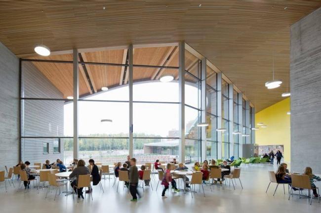 © Verstas Architects/Facebook  Выбирать школу вФинляндии непринято, все ходят вближайшую к