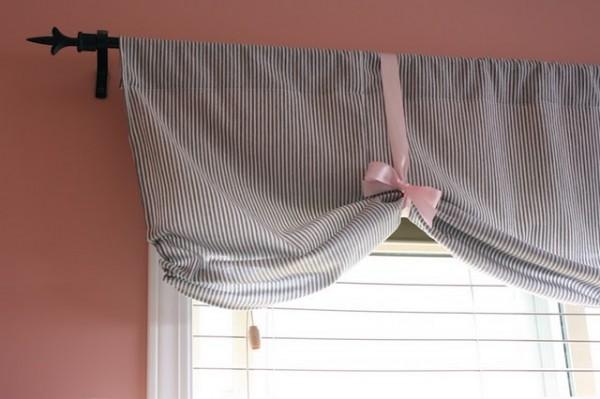 Оригинальные шторы в стиле кантри: как сделать их самостоятельно? (2 фото)