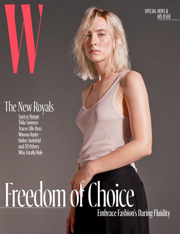 Звезды на обложке W Magazine