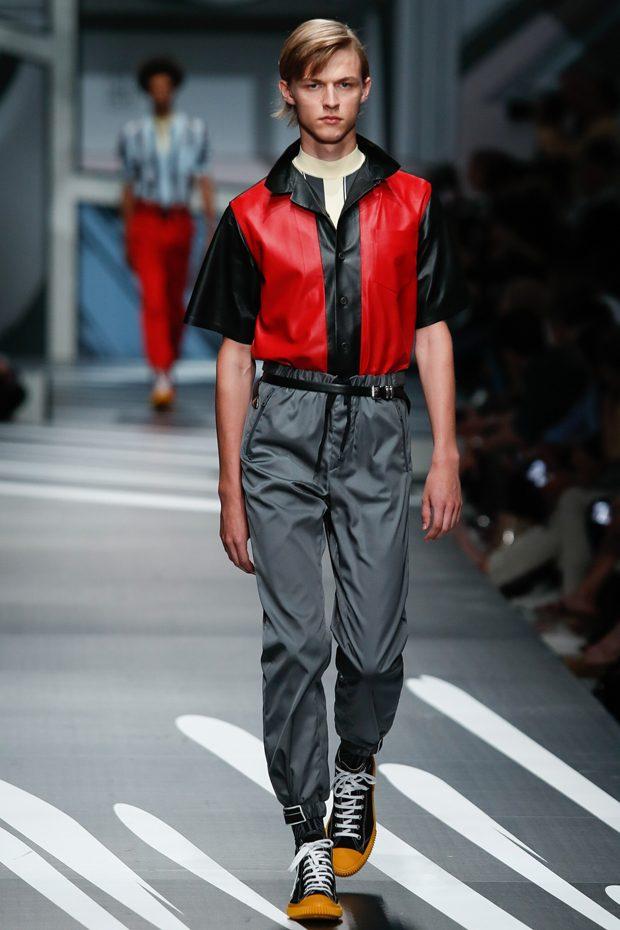 #MFW: PRADA Spring Summer 2018 Menswear Collection
