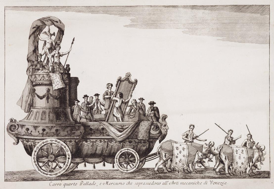 Павел I в Венеции января, площади, СанМарко, Павел, Европе, путешествие, венецианского, князь, Колесница, Павла, Мадам, Графа, XVIII, Графини, Севера, амфитеатр, Высочеств, Петрович, Монсеньора, Марии
