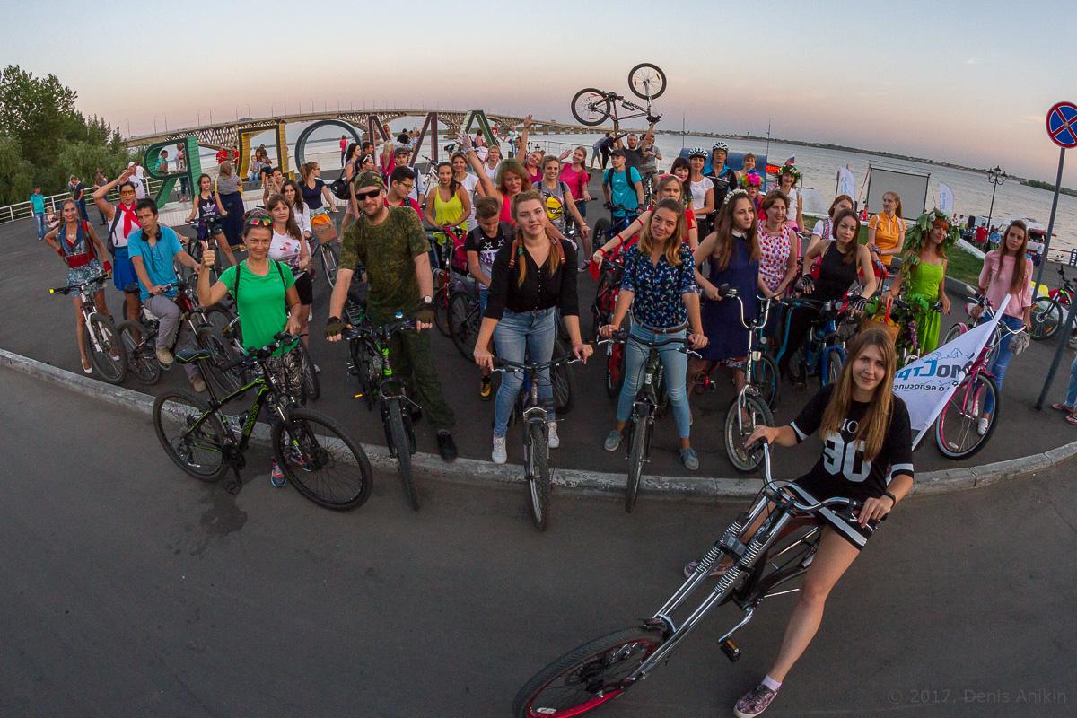 велопарад Леди на велосипеде фото 20