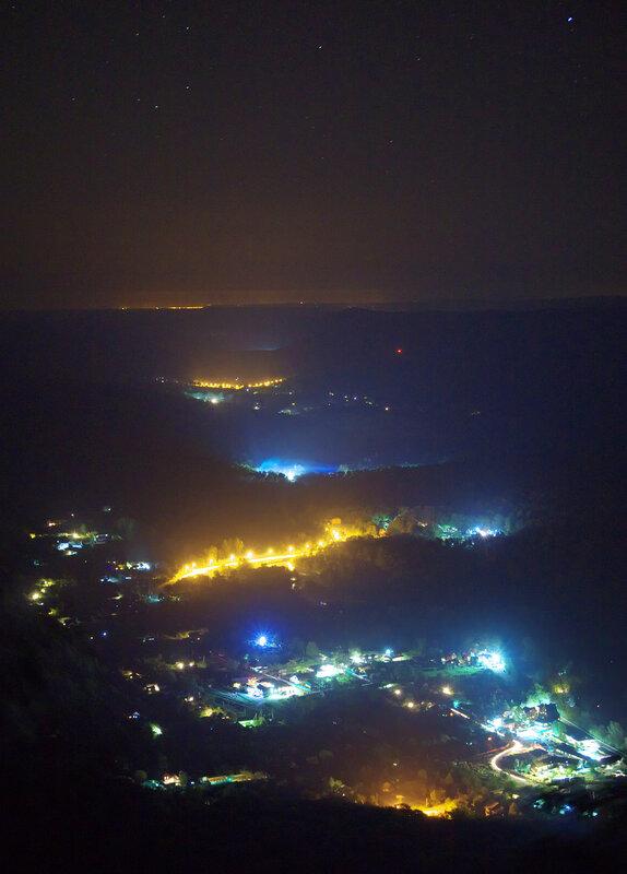 Гуамка ночью
