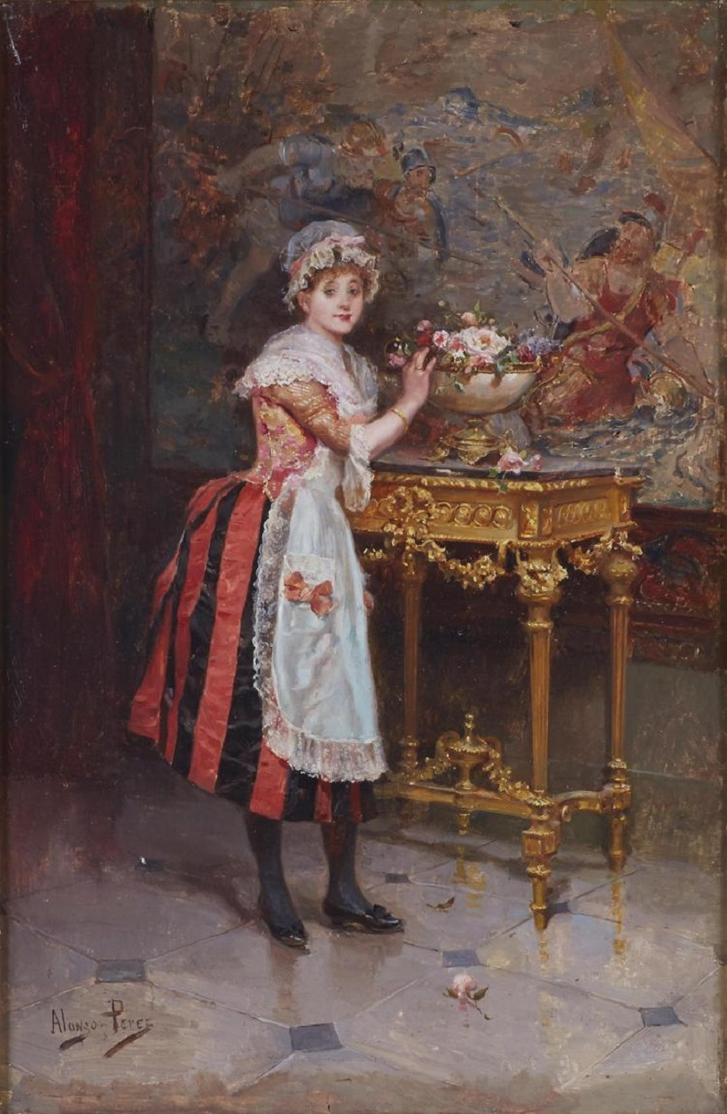 The New Chambermaid