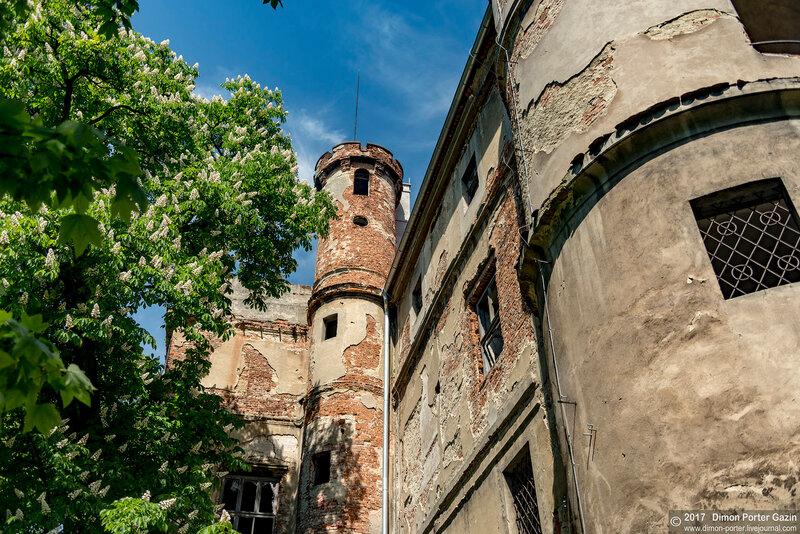 Глогувек. Замок Опперсдорффов