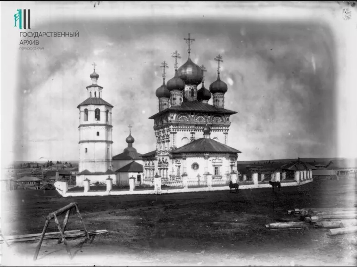 Вид Никольской церкви