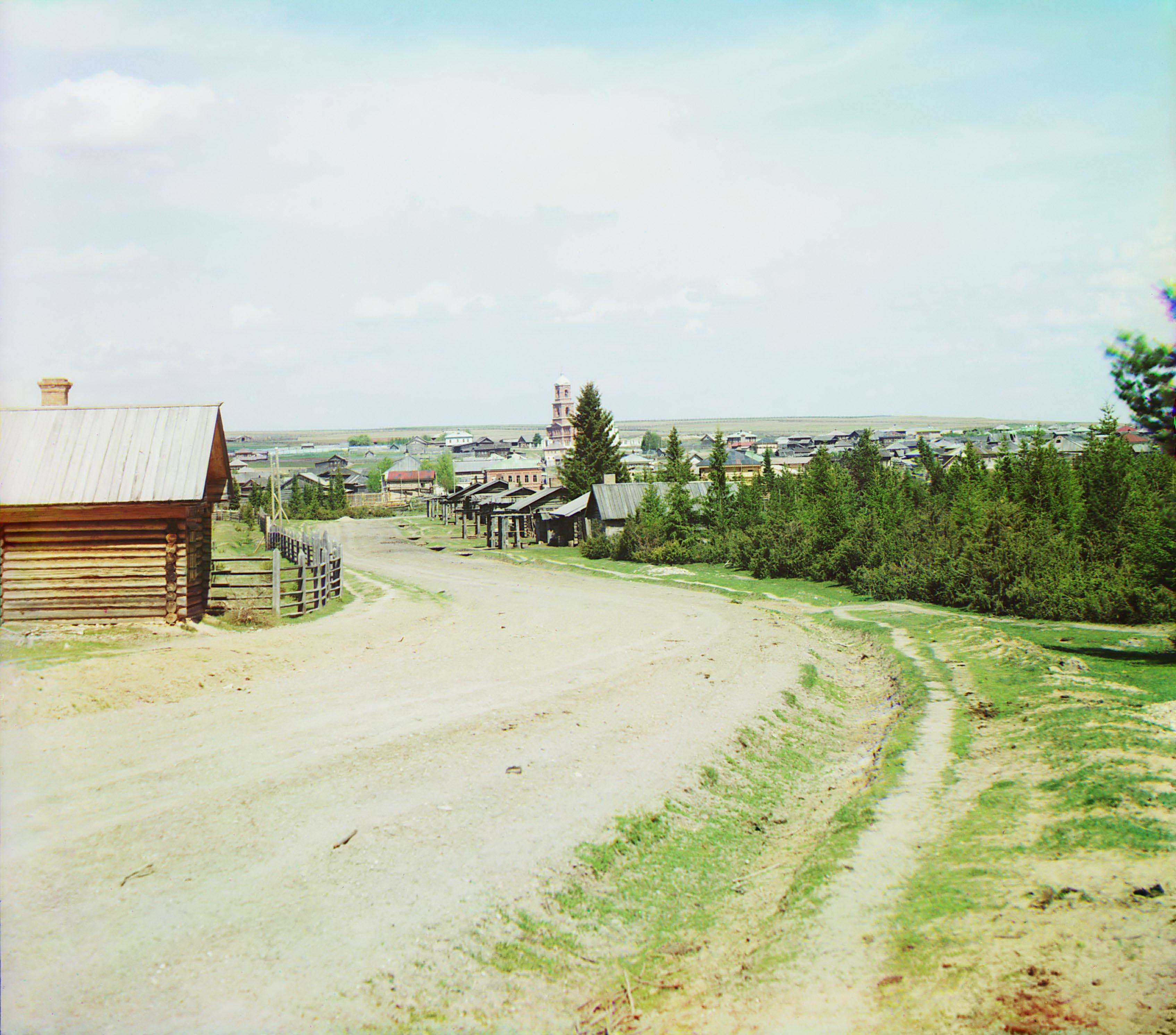 Окрестности села. Село Вильгорд (Вильгорт) по пути из Чердыни в с. Ныроб