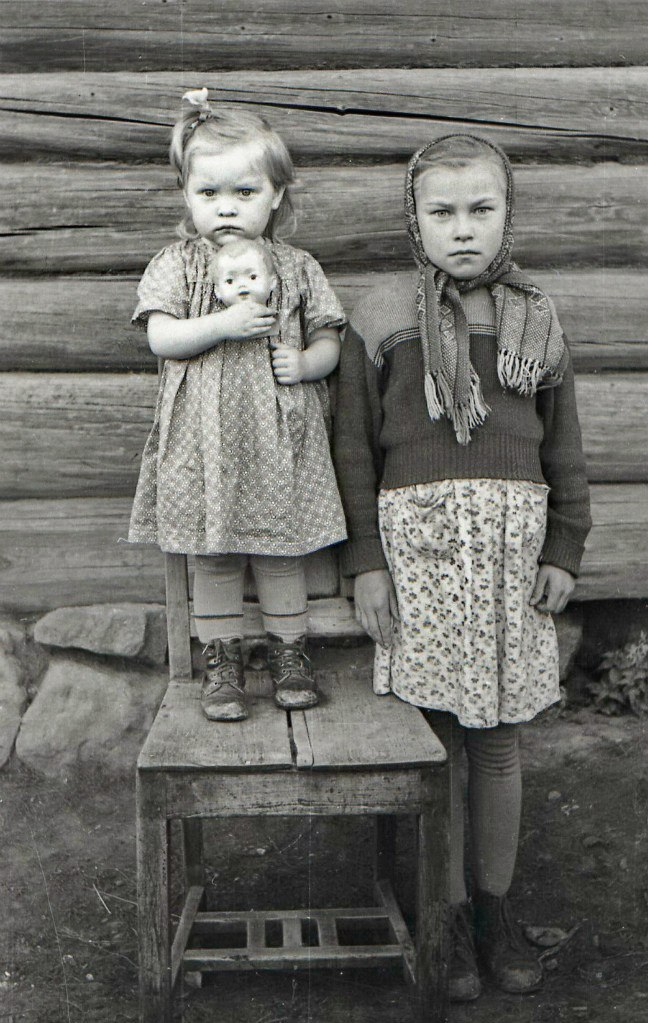 1960. Дети, с.Полозово