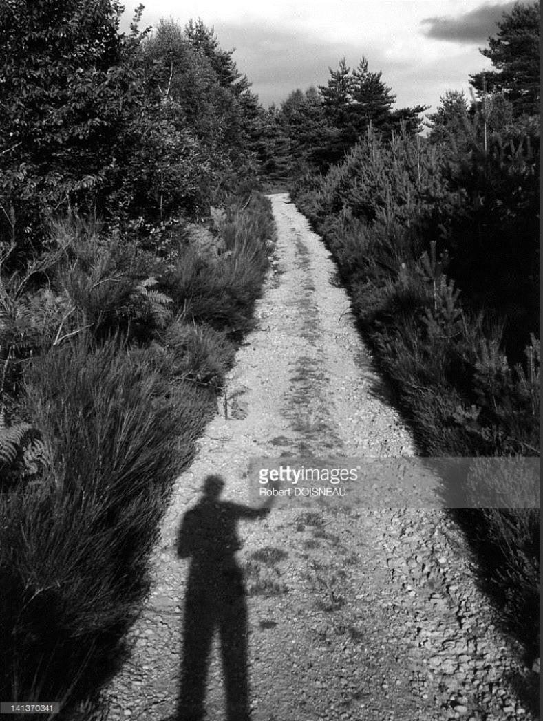 1955. Летний автопортрет  Робера Дуано. Корезе