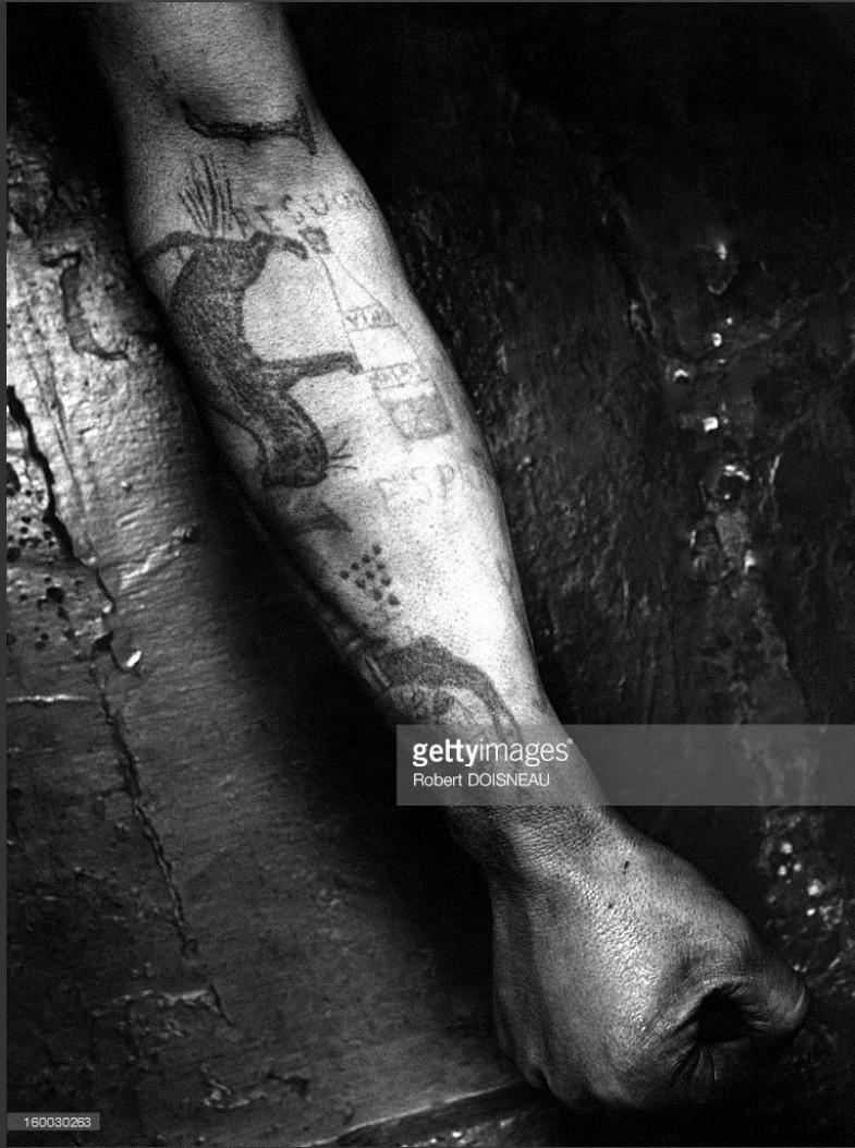 1947. Татуированное предплечье
