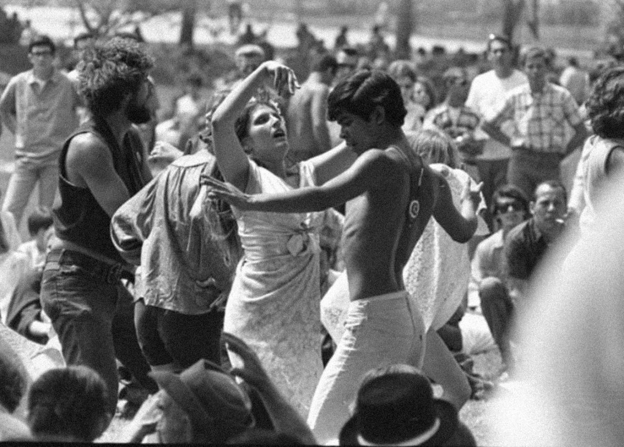 1967. Танцевальное развлечение в «Гриффин Парк»