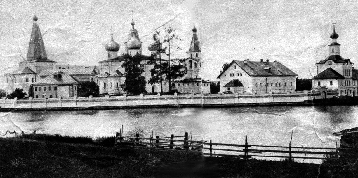 Окрестности Холмогор. Антониево-Сийский монастырь