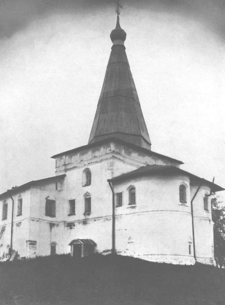 Благовещенская церковь. Вид с юго-восточной стороны