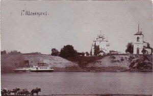 Вид на соборы с левого берега Ваги
