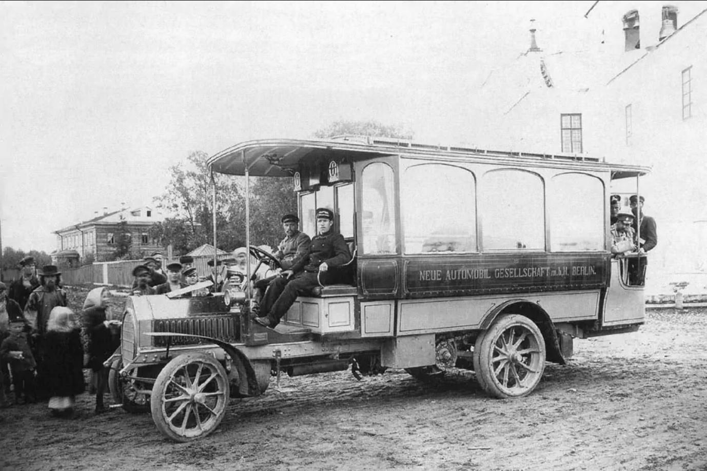 Архангельский автобус. 1907