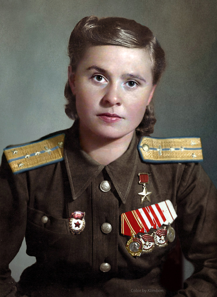 Maria Dolina, Hero of the Soviet Union