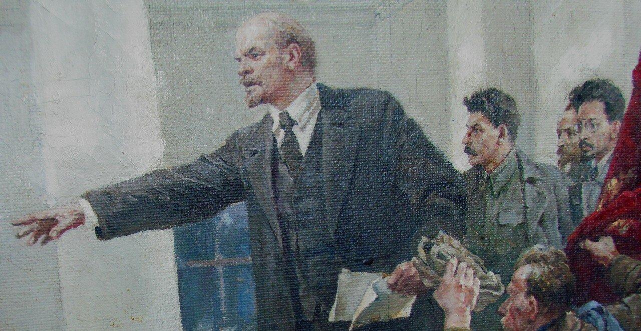 владимир серов. ленин провозглашает советскую власть. фрагмент.jpg