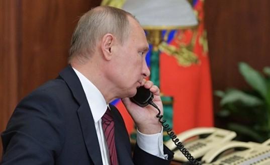 Владимир Путин провел телефонный разговор с премьером Италии