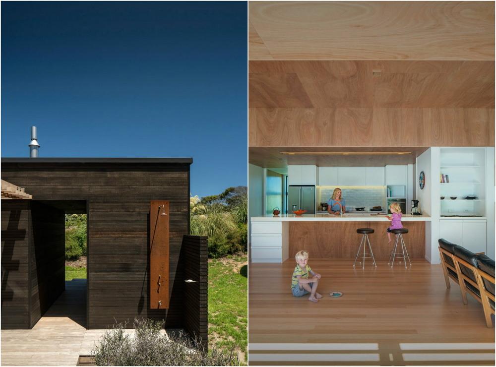 Деревянный дом в Новой Зеландии
