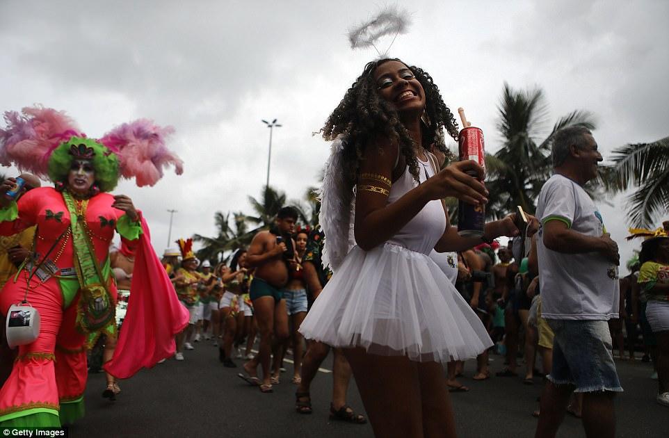 Веселое шествие в Рио-де-Жанейро