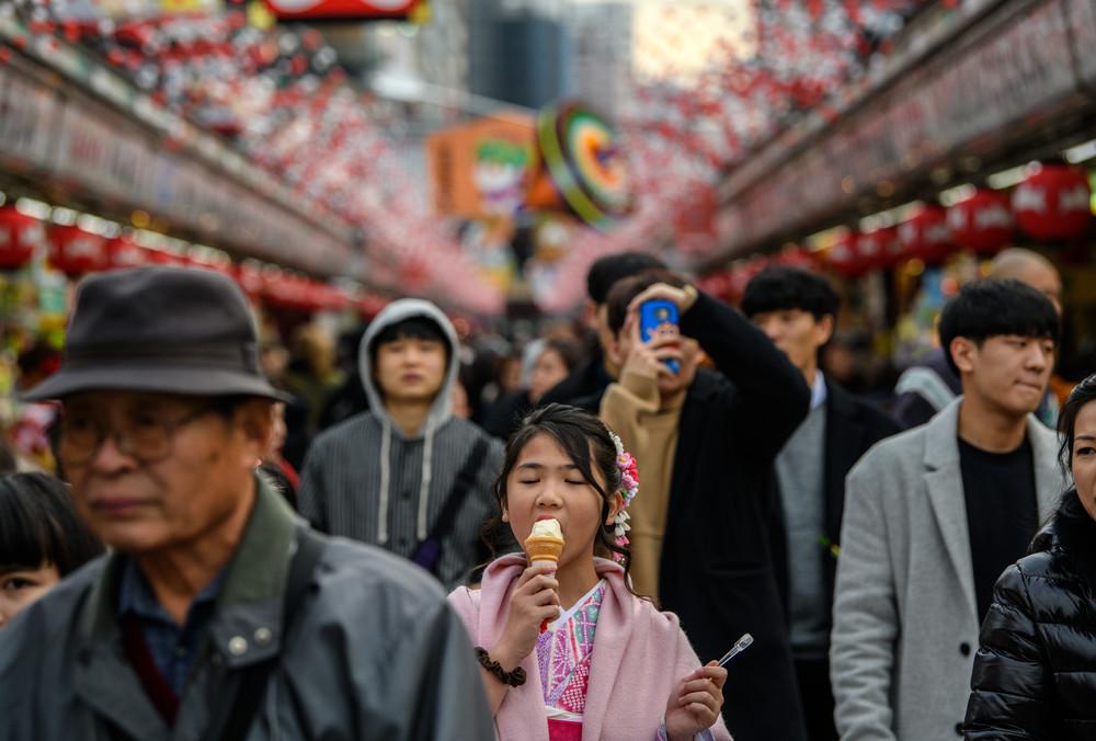 Интересные фотографии из Японии