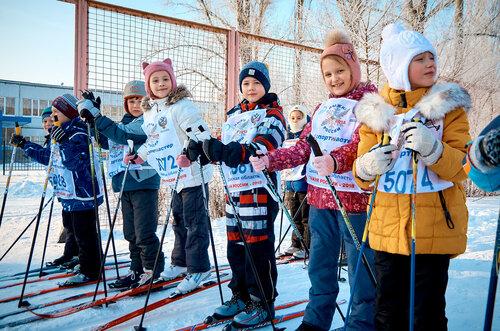 «Лыжня России» - 2018 в первых классах гимназии