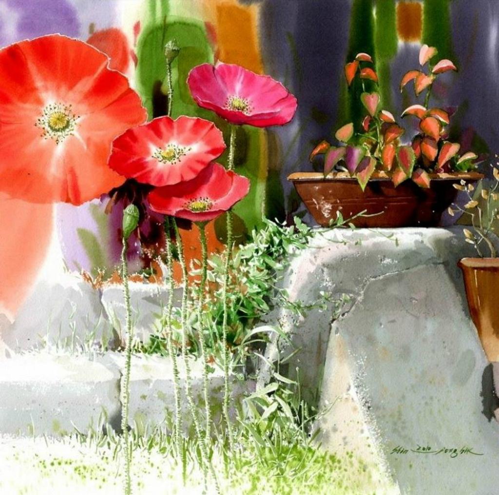Корейский-акварелист-Shin-Jong-Sik.-Цветы-акварелью.-Восьмые.jpg