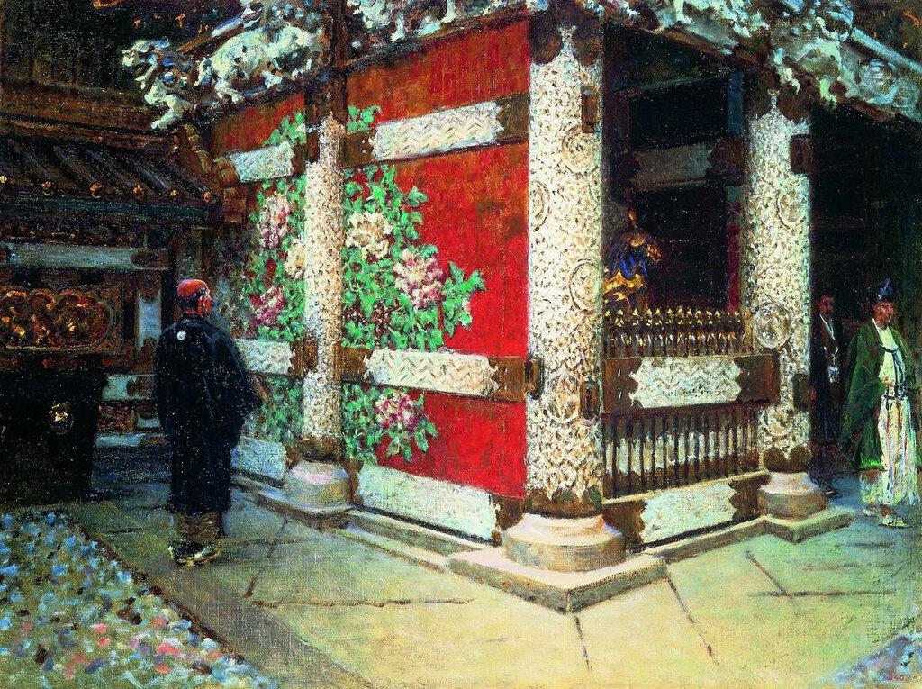 Шинтоистский храм в Никко  ГРМ