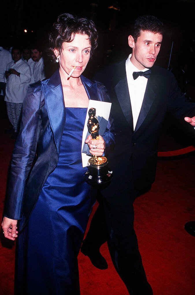 Frances Mcdormand at The 69th Annual Academy Awards, 1997