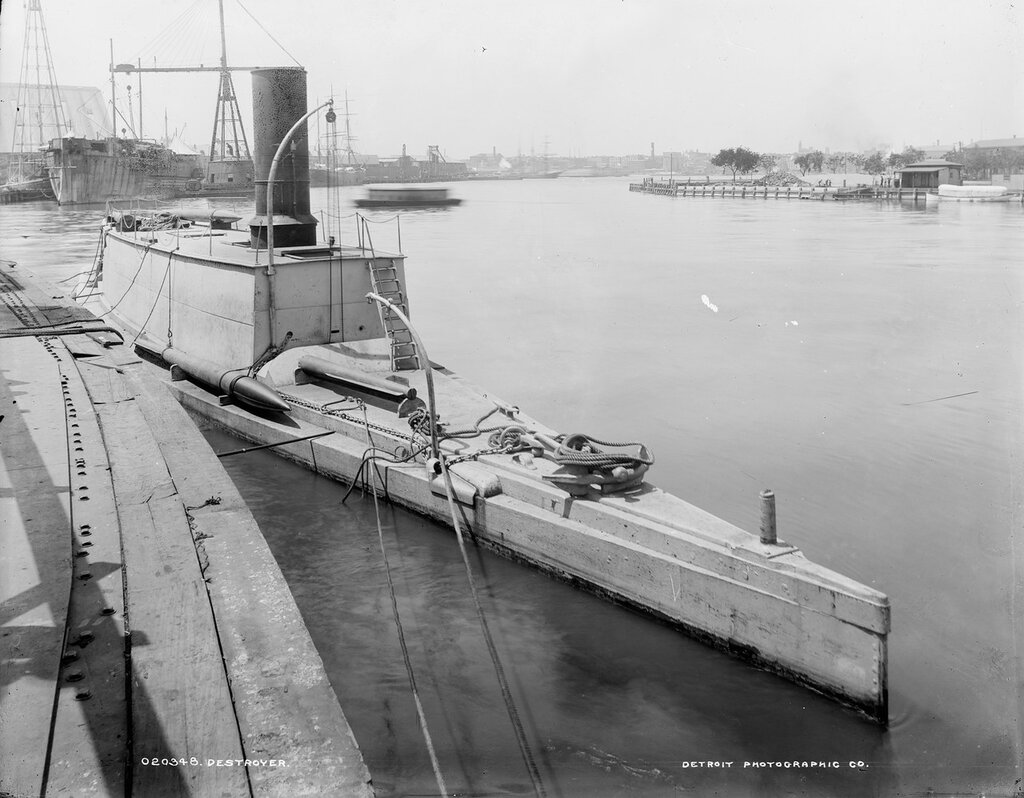 Destroyer (Ericsson's Torpedo boat) [between 1882 and 1901]