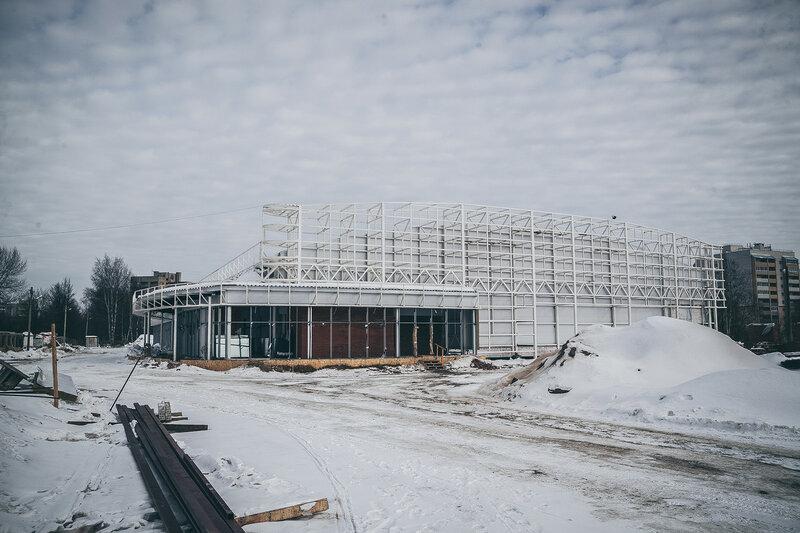 Ледовый дворец во Владимире