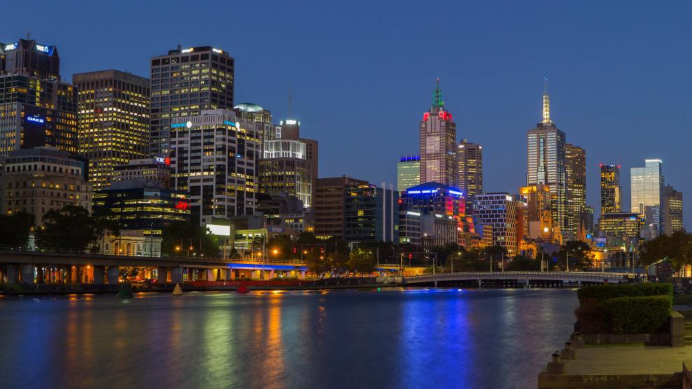 Мельбурн по праву считается самым живописным городом Австралии. Здесь есть и изысканная виктори