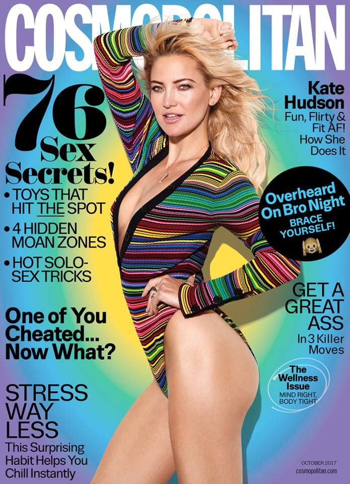 Кейт Хадсон в Cosmopolitan