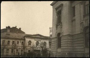 Поварская улица. Дом Титовской школы Московского благотворительного общества