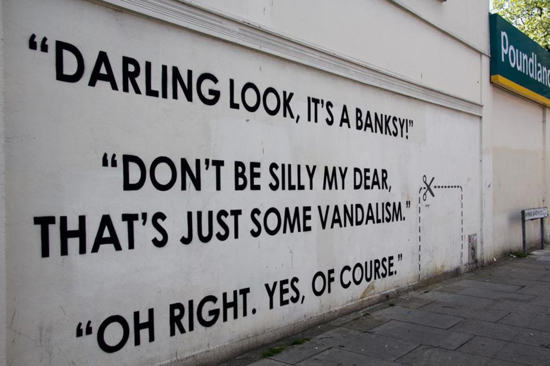 Street Art – The powerful and offbeat messages of Mobstr