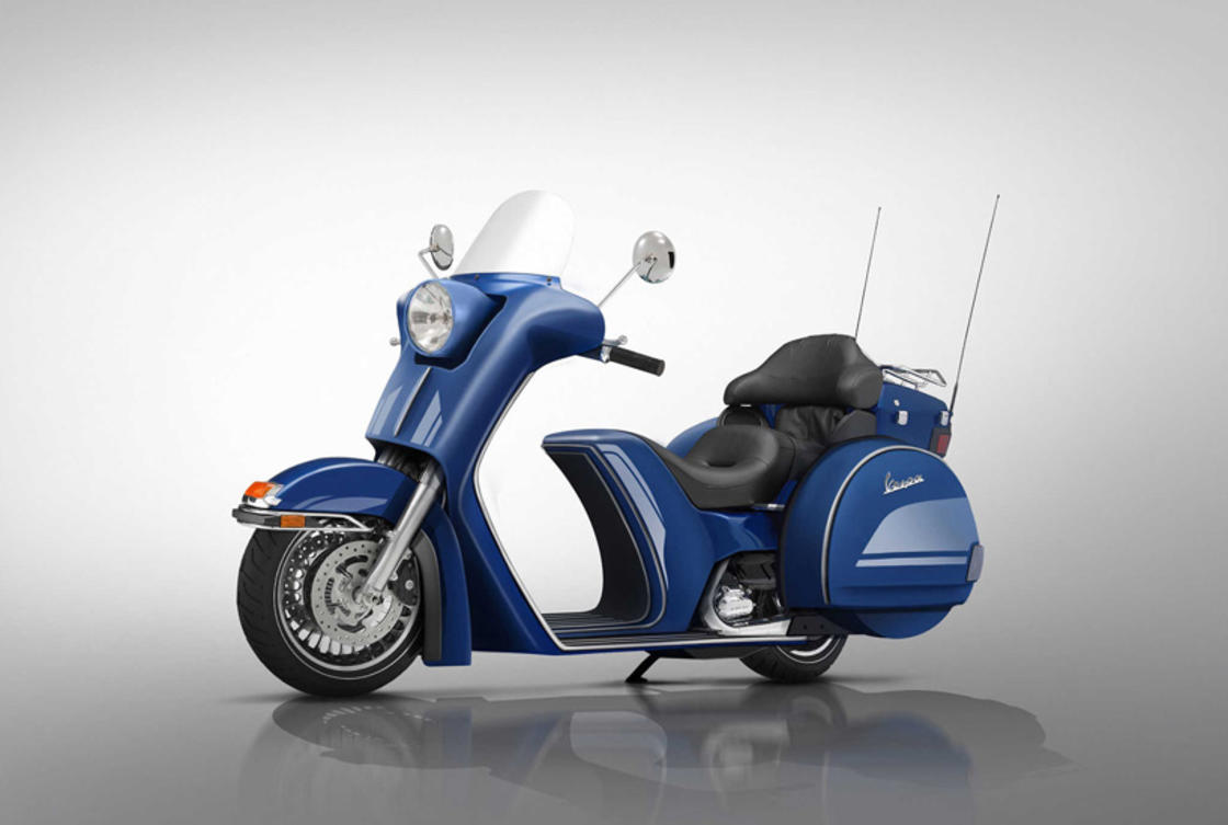Vespa Touring Bike