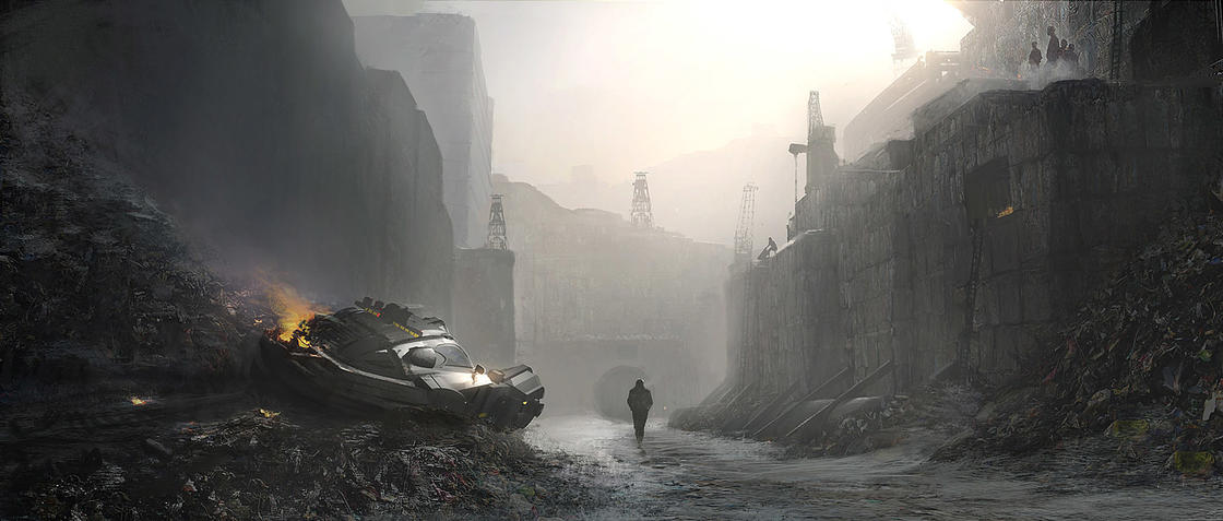 Blade Runner 2049 Concept Art – The preparatory drawings of the movie (26 pics)