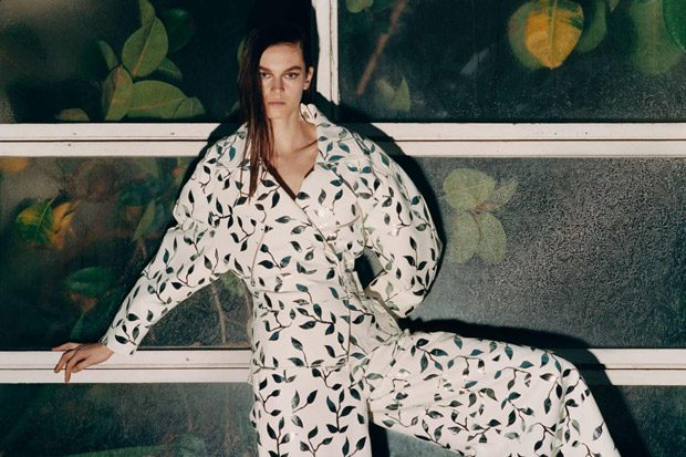Hannah Claverie is the Face of DROMe Spring Summer 2018 Collection