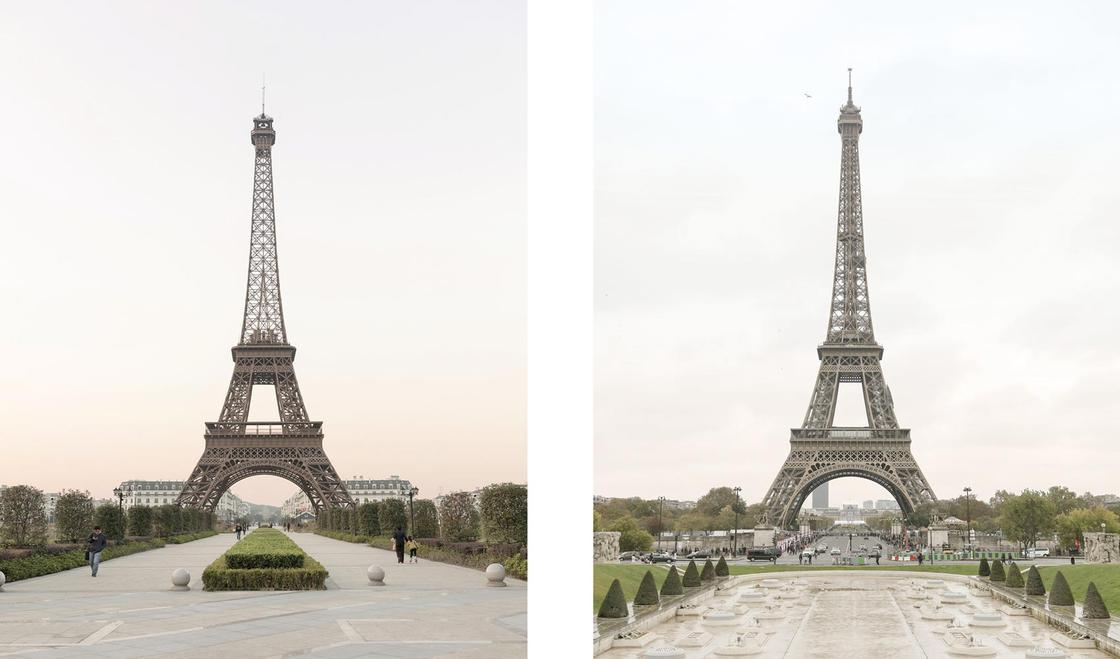 Paris Syndrome – These photos compare Paris and its Chinese replica (16 pics)